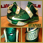 nike zoom soldier 6 pe svsm away 3 02 Nike Zoom LeBron Soldier VI Version No. 5   Home Alternate PE