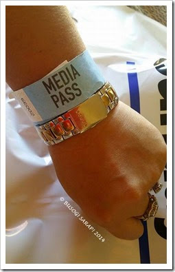 Good Food and Wine Show 2014 - Media Pass © BUSOG! SARAP! 2014