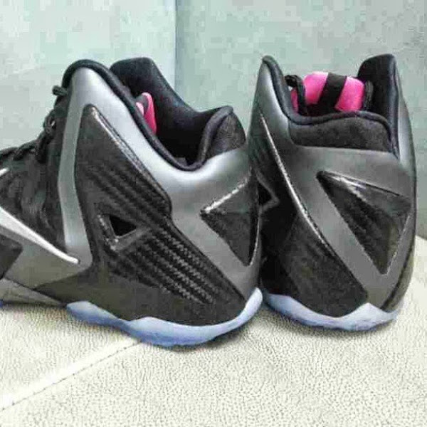 Nike LeBron XI 11 GS 8211 Carbon Fiber  Pink