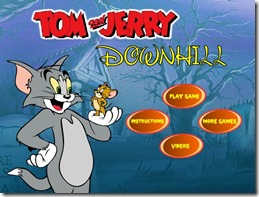 DOWNHILL-TOM-E-JERRY