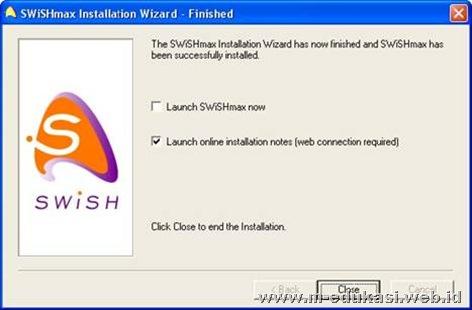 install swishmax