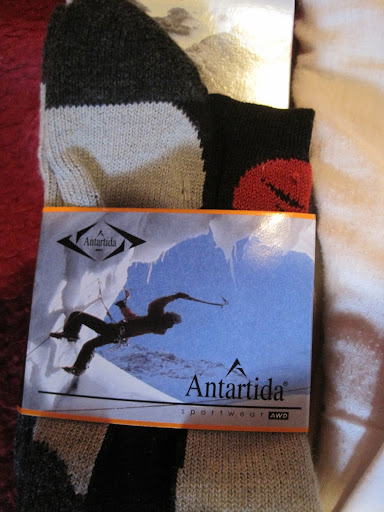 Antartida (Antarctic) Socks!