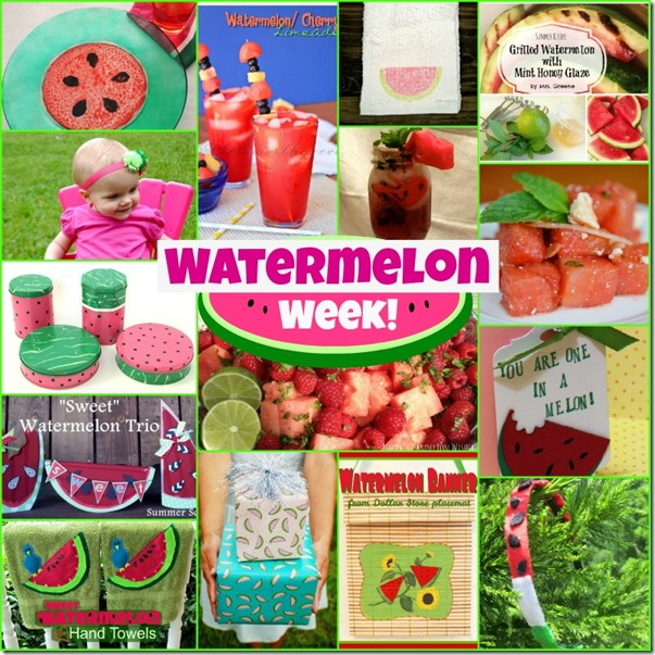 Watermelon Collage