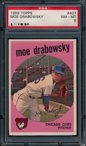 1959 Topps 407 Moe Drabowsky normal