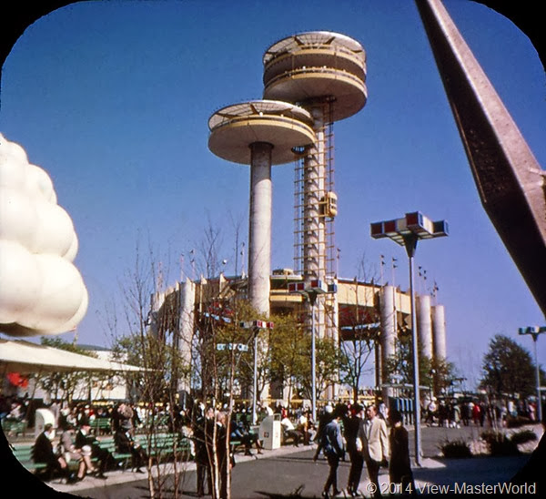 View-Master New York World's Fair 1964-1965 (A671),Scene 3: New York State Towers