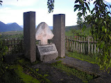 The grave of Gerarld Alfred Cup above Cinyiruan near Malabar (Daniel Quinn, December 2010)