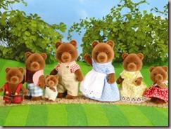 Timbertop brown bear family