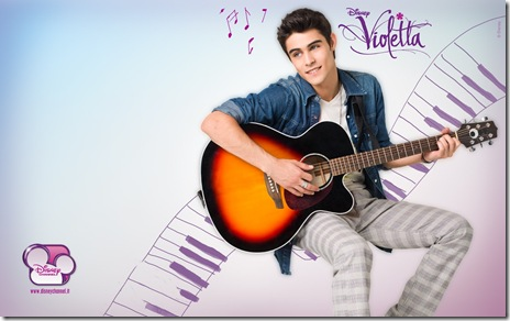 Violetta-Wallpaper