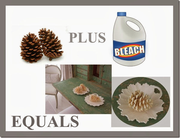 Ribbet Edit BLEACH PINECONES