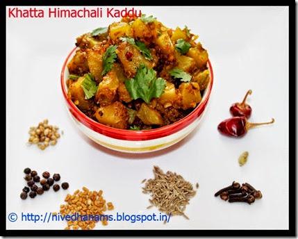 Himachal - Khatta Kaddu
