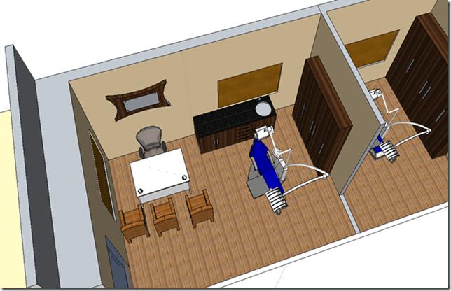 Interior concepts dental clinic design for Dental clinic interior design concept
