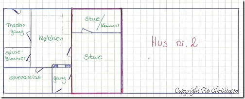Grundplan af dobbelthus