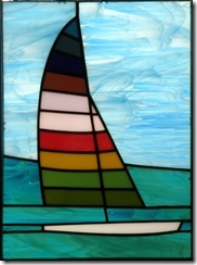 Rainbow Sailboat Opal 600x807