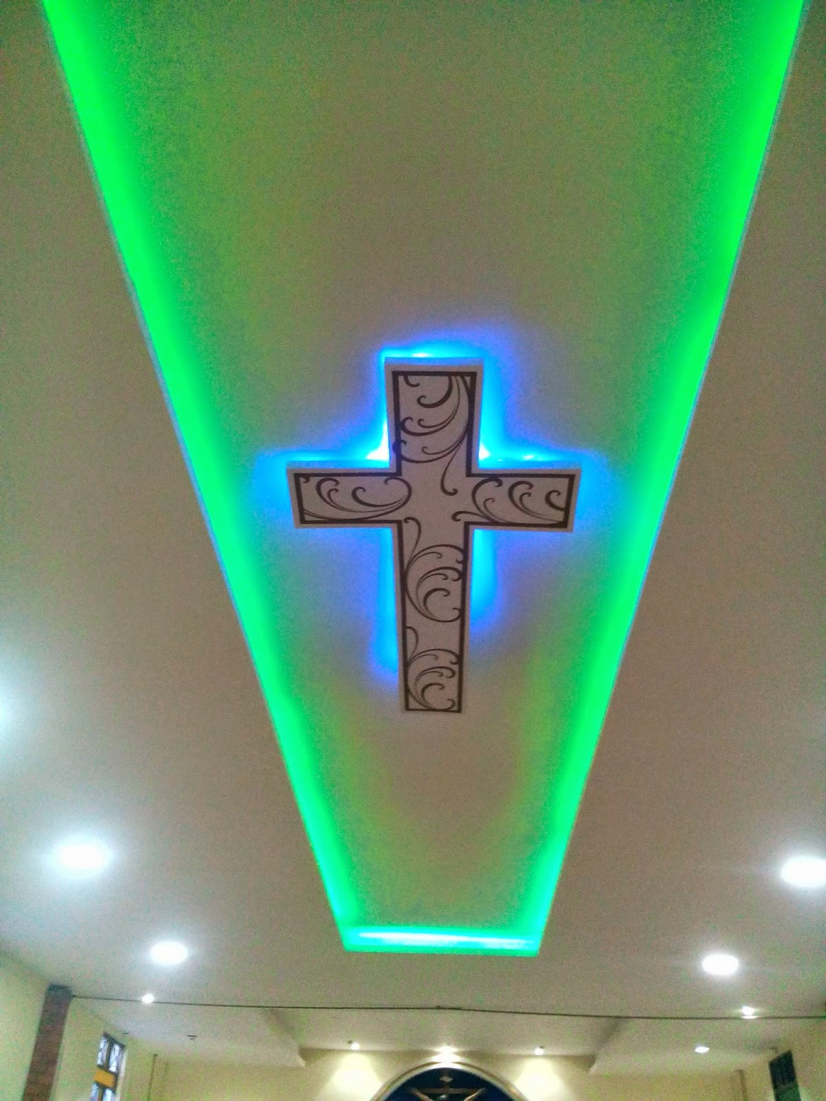 Decoraciones Y Drywall Cielo Falso En Superboar Con Luces - Luces-indirectas