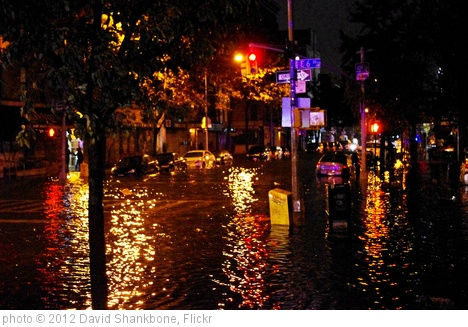 'Hurricane Sandy Flooding Avenue C 2012' photo (c) 2012, David Shankbone - license: http://creativecommons.org/licenses/by/2.0/