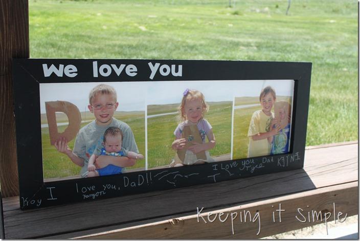 DAD Chalkboard Frame (2)