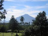 Gunung Klabat as seen from near Manado airport (Daniel Quinn, August 2010)