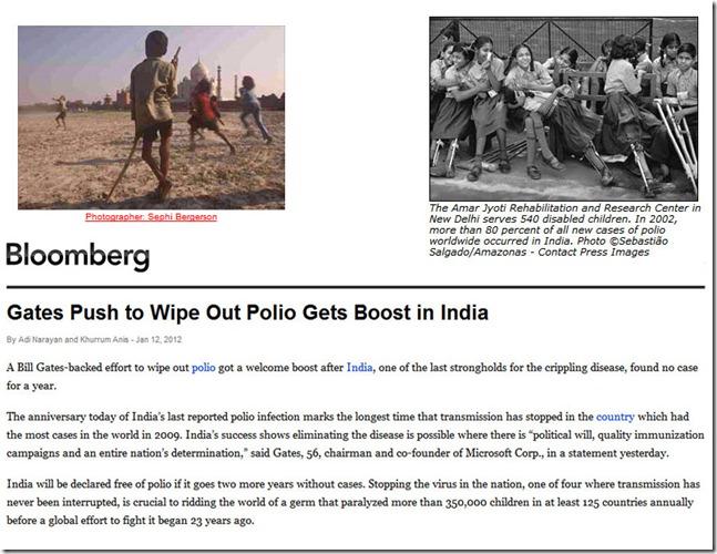 polio India win