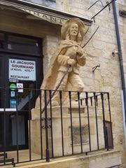 2009.09.04-004 statue de Jacquou le Croquant