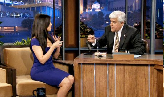 Kim Kardashian at The Tonight Show