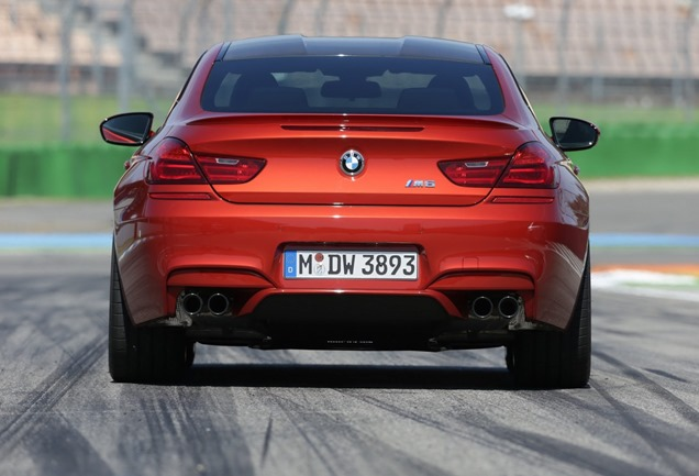 2014 BMW M6 with Competition Package Rear