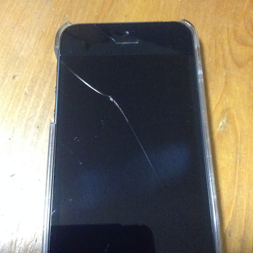 iPhone5 screen cracked