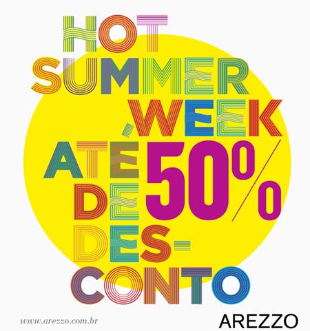 hot summer arezzo promocao verao 2012