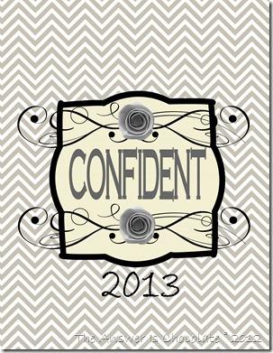 Confident 2013-001