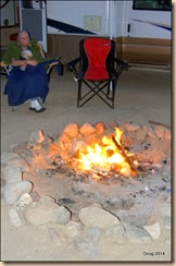 Fire and marshmallows