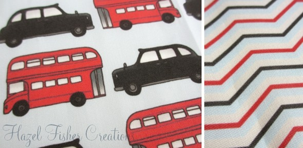 2013sep14 Spoonflower swatch london calling zig zag bus taxi