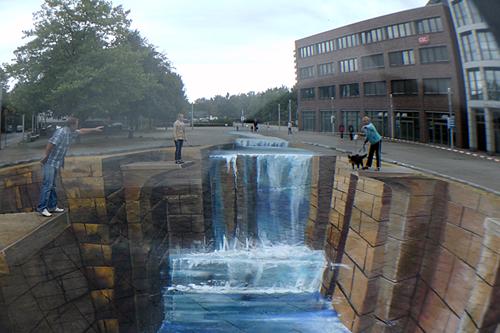 3D Pavement Art Illusions by Street Artists Edgar Mueller, Inge ...