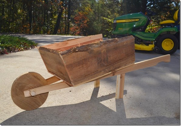 Yardstick Wheelbarrow