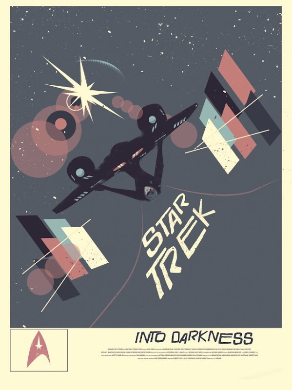 Blurppy Artist Project - Star Trek Movie Posters - Fernando Reza