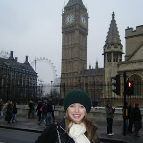 Davis Ann Talton in London, Peris, Rome and Venice