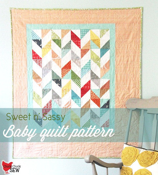 Sweet n' Sassy Baby Quilt Pattern