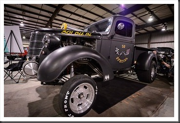 Rick and Terri Osburn's 1938 Chevy Pickup Gasser