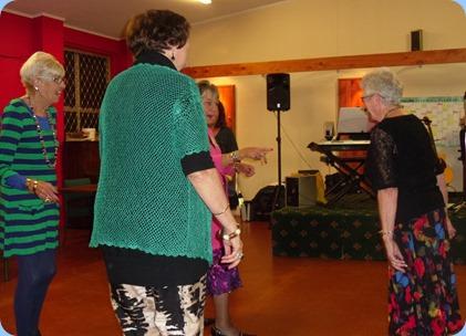 More dancing at the Raglan Club Saturday Night Concert.