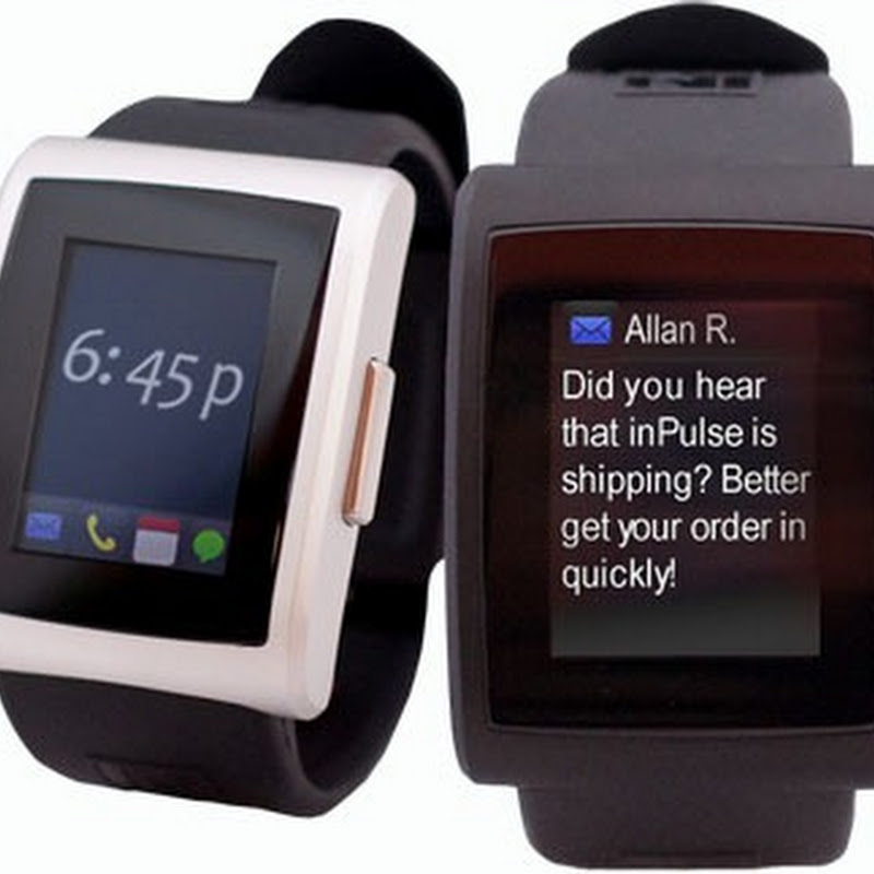 inPulse: A Watch that Receives Push Notifications from your Smartphone