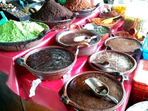 Mole Pastes at Mercado Hidalgo in Tijuana
