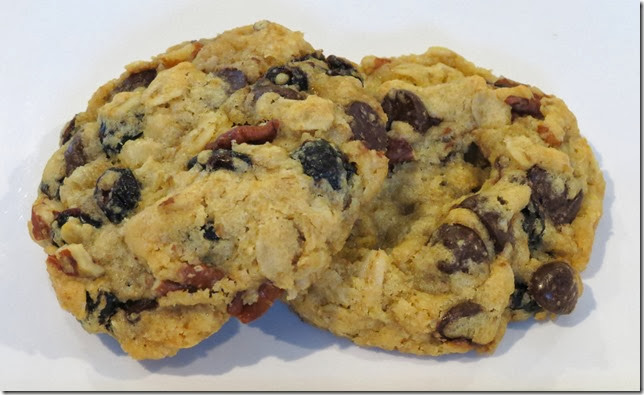 Vegan Oat Cranberry Pecan Chocolate Chip Cookies, gluten free 3