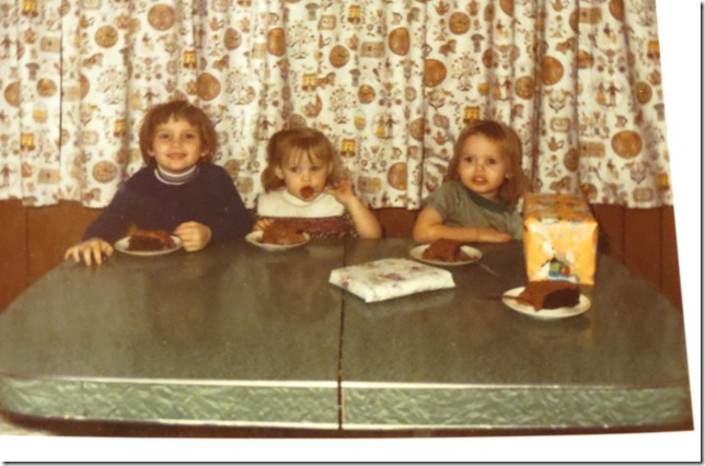 My 3rd birthday, Nov. 15, 1972