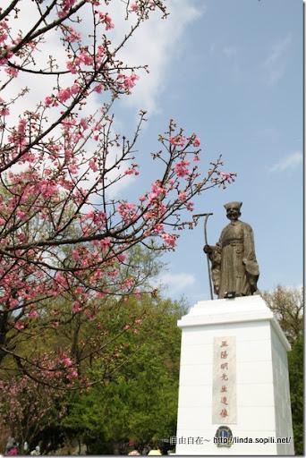 2010陽明山花季-王陽明雕像