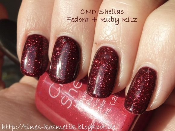 CND Shellac Fedora Ruby Ritz 1