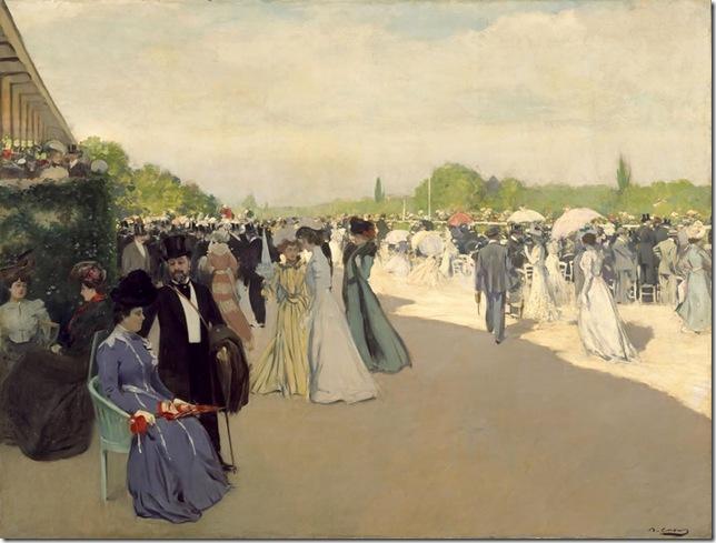 ramon casas i carbo_En el hipodromo 1898-1901