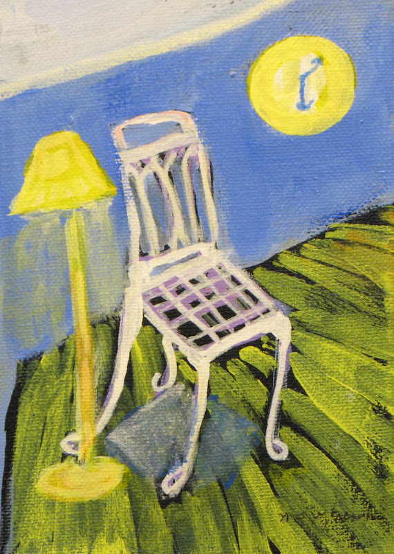 """Cool Chair"" Acrylic"