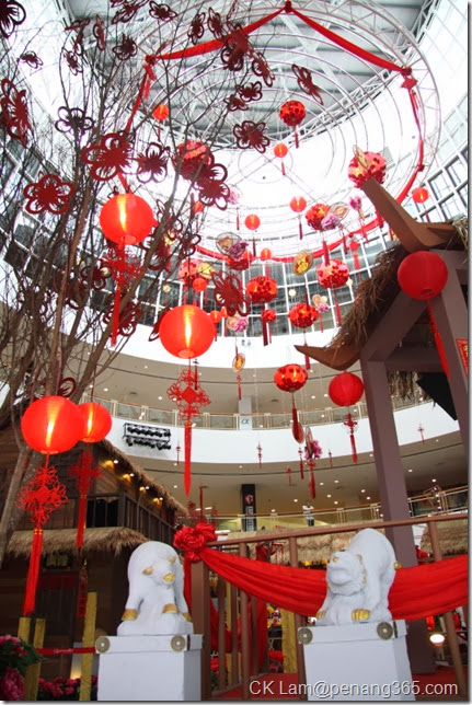 Decoration in welcoming the year of the horse