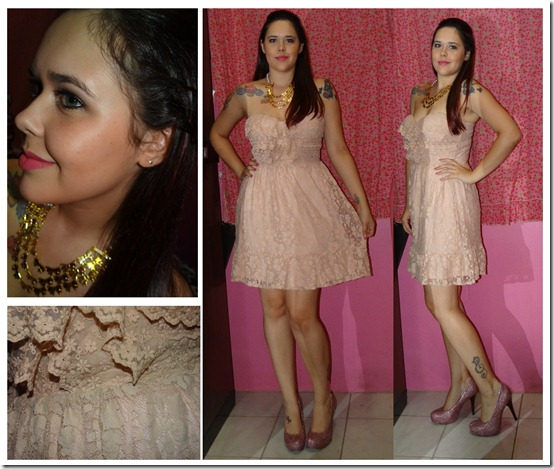 look formatura romantica