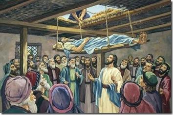 Jesus Paralitico descido do teto