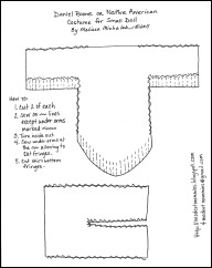 Native Costume Pattern