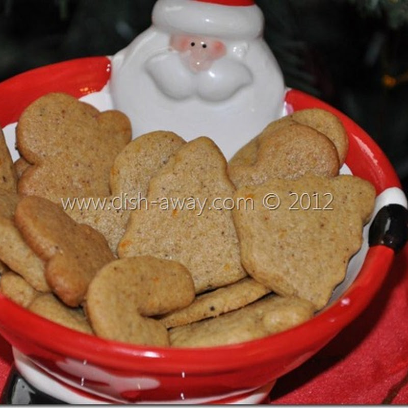 Ginger Cut-out Cookies with a Middle Eastern Twist Recipe